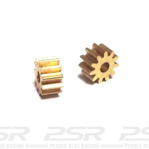 BRM Brass Pinion 11t x2