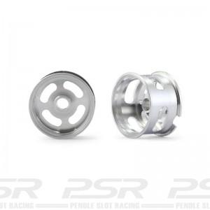 BRM Minicars Front/Rear Racing Light Aluminium Wheels