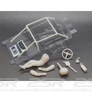 BRM Ford Mustang Lexan Cockpit Set