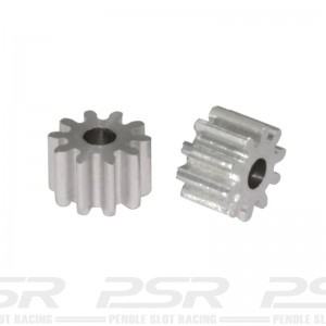 Scaleauto Aluminium Pinion 10t M50 for 2mm
