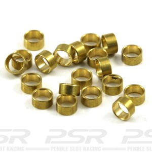 Scaleauto Axle Spacers for 3/32 Brass 1.5mm