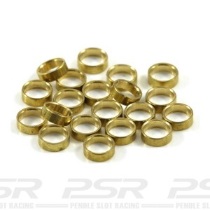 Scaleauto Axle Spacers for 3/32 Brass 1mm