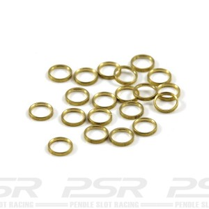Scaleauto Axle Spacers for 3/32 Brass 0.5mm