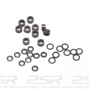 Scaleauto Axle Spacers for 3/32 Plastic Mix