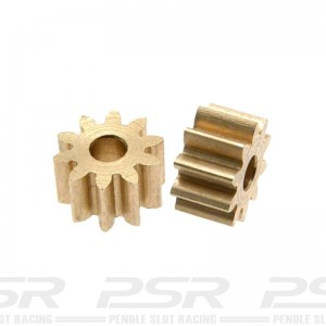Scaleauto Brass Pinion 10t 2mm