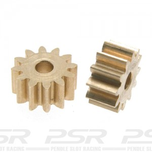 Scaleauto Brass Pinion Sidewinder 12t 2mm SC-1195