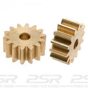 Scaleauto Brass Pinion Sidewinder 14t 2mm SC-1197