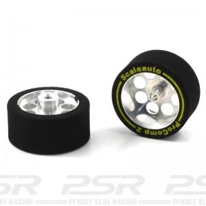Scaleauto 1/24 Sponge Wheels Procomp-2 27.5x13mm
