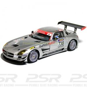 Scaleauto Mercedes SLS GT3 No.738 Nurburgring 2010 SC-6016A