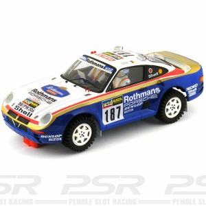 Scaleauto Porsche 959 No.187 Paris Dakar 1986