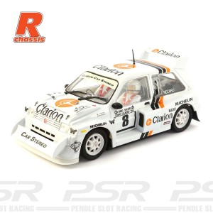 Scaleauto MG Metro 6R4 No.8 Clarion R-Series