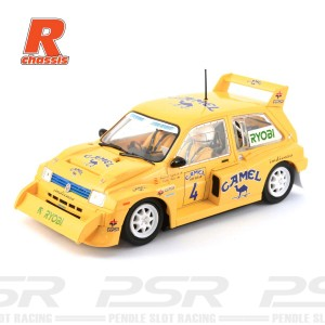Scaleauto MG Metro 6R4 No.4 Camel R-Series