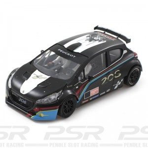 Scaleauto Peugeot 208 T16 Rally Cup Edition Black