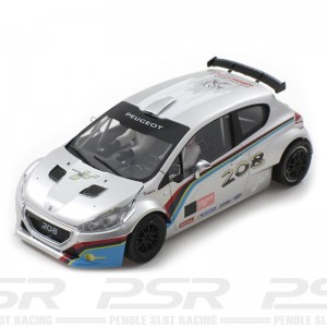 Scaleauto Peugeot 208 T16 Rally Cup Edition Silver