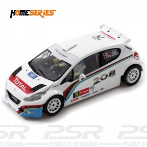 Scaleauto Peugeot 208 T16 Rally Ypres 2013 Home Series