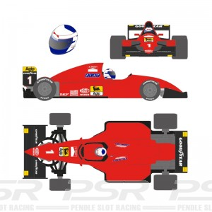 Scaleauto Formula 1990 No.1 Red Alain P