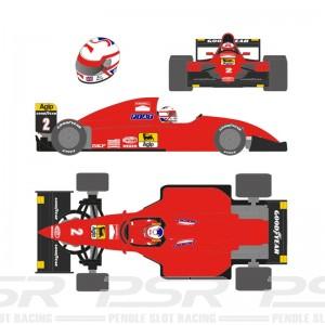 Scaleauto Formula 1990 No.2 Red Nigel M