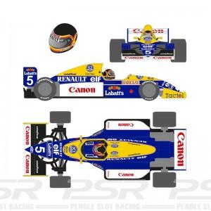 Scaleauto Formula 1990 No.5 Blue/Yellow Thierry B