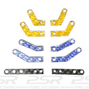Scaleauto Lateral Suspension Arms Carbon SC-6525A