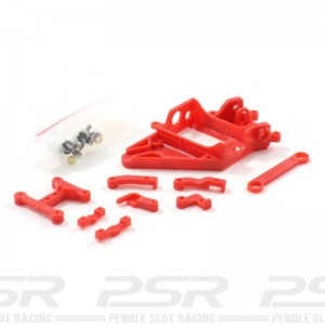 Scaleauto Motor Mount RT3 Anglewinder Offset 1mm Extra Hard