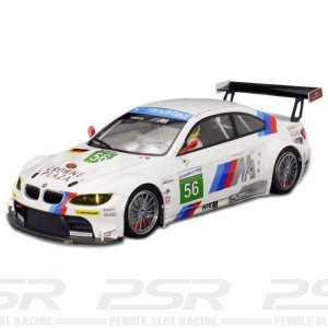 Scaleauto BMW M3 GT2 24h Le Mans 2011 No.56 - 1:24th Scale SC-7036