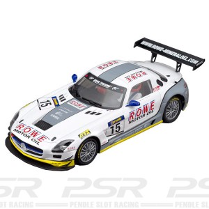 Scaleauto Mercedes SLS GT3 Rowe No.5 Mamerow Racing 1:24th Scale SC-7046