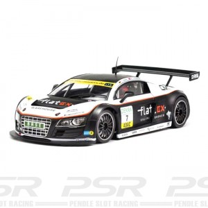 Scaleauto Audi R8 LMS GT Masters 2011 No.7 Flatex - 1:24th Scale SC-7054