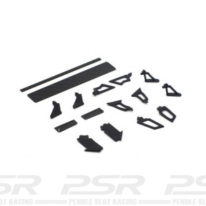 Scaleauto Carbon Fibre Rear Wing Type C