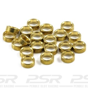 Scaleauto Axle Spacers for 3mm Brass 1.5mm