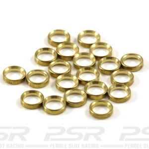 Scaleauto Axle Spacers for 3mm Brass 1mm