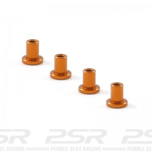 Scaleauto Suspension Mounts 4mm Aluminium Gold