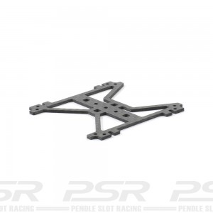 Scaleauto H Plate Carbon Fibre 1.2mm Short