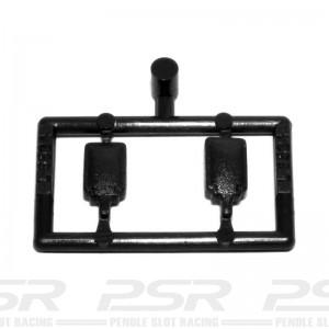 Scalextric Mirrors Type 1 Black