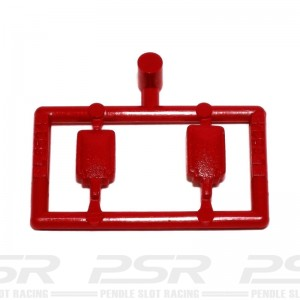 Scalextric Mirrors Type 1 Red