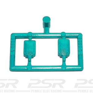 Scalextric Mirrors Type 1 Turquise