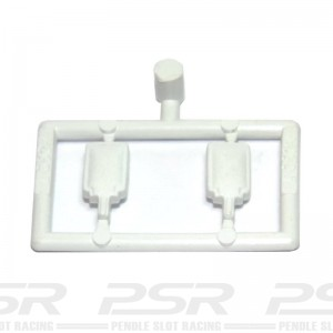 Scalextric Mirrors Type 1 White
