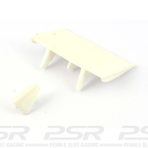 RUSC Shadow Rear Aerofoil & Air Box White