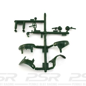 Scalextric Bentley 4.5L Parts Sprue