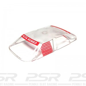 Scalextric Alfa Romeo 155 Windscreen