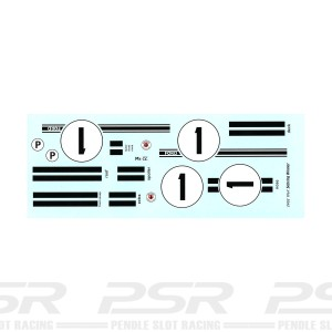 Starfighter Decals 1/24 Ford GT40 MK IV Sebring 1967 Winner