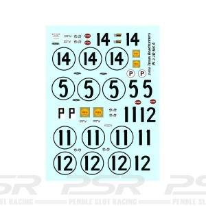 Starfighter Decals 1/24 Chaparral 2D Sebring 1966-67 & Daytona 1967