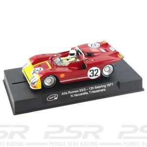 Slot.it Alfa Romeo 33/3 No.32 12h Sebring 1971