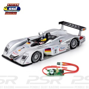 Slot.it SSD Digital Audi R8 LMP No.7 Le Mans 2000