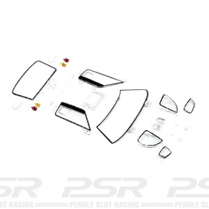 Slot.it Ford GT40 Clear Parts Pack SICS18V