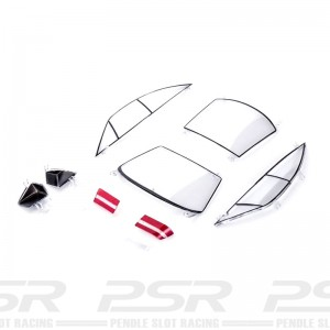 Slot.it Opel Calibra V6 Clear Parts Pack