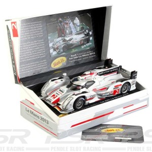 Slot.it Audi R18 e-tron 4WD No.2 1st Le Mans 2013