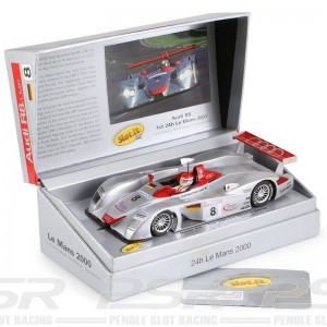 Slot.it Audi R8 LMP No.8 1st Le Mans 2000