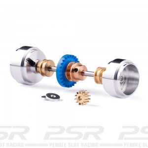 Slot.it Starter Kit Inline 26t 17.3x9.75mm Wheels for Carrera