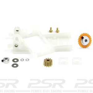 Slot.it Anglewinder Motor Mount 1.0mm Offset Flat-6 Conversion Kit