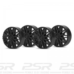 Slot.it Wheel Inserts BBS Black SIPA03B